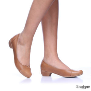 דגם מילי: נעליים בצבע קאמל