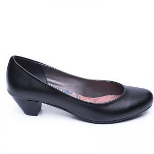 174111 - נעליים כרמל בצבע שחור