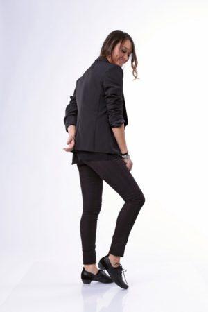6191 - ג'קט לידיה בצבע שחור