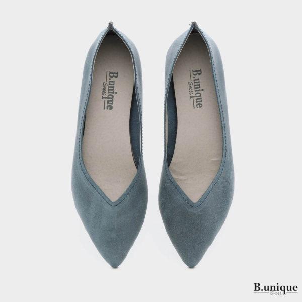 161392 - נעליים מיכל בצבע ג'ינס