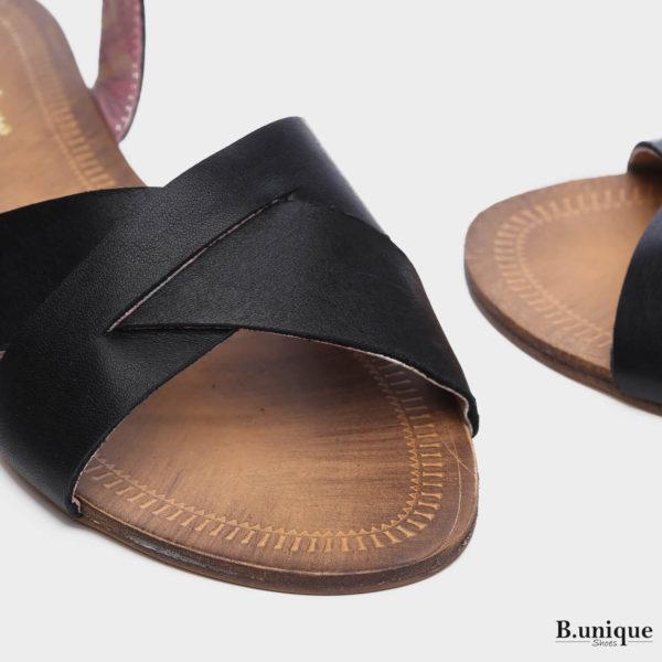 171011 - סנדלים פאטאיה בצבע שחור