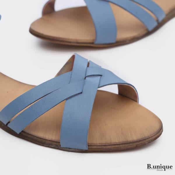 171031 - סנדלים אתונה בצבע ג'ינס