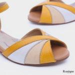 173068 - סנדלים אספרנס בצבע צהוב