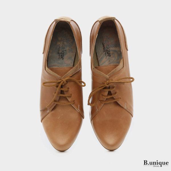 173553 - נעליים בקי בצבע קאמל