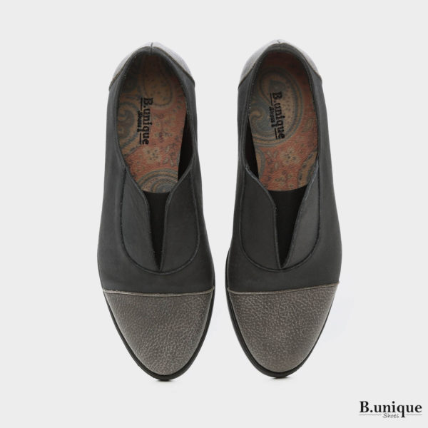 בלעדי לאתר: 173708 - נעליים ג'יזל בצבע שחור