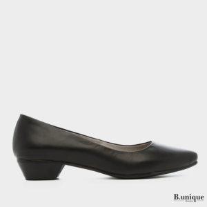 דגם נטע: נעלי בובה בצבע שחור