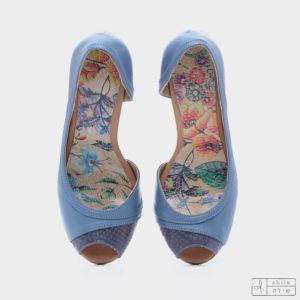 בלעדי לאתר: 277570 - סנדלים סיישל בצבע כחול