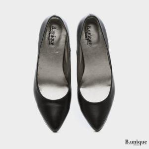 נעלי סירה שפיץ בצבע שחור