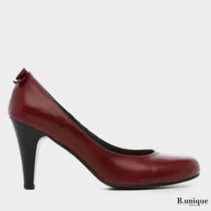 דגם שרלין: נעלי סירה בצבע בורדו