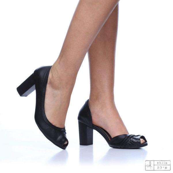 בלעדי לאתר: 277570 - סנדלים סיישל בצבע שחור