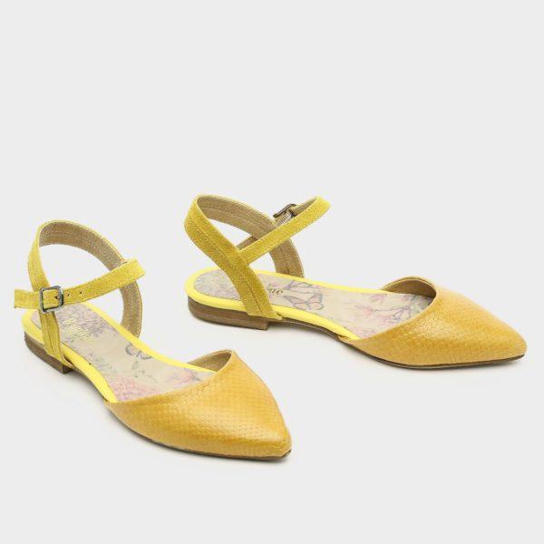 171515 - נעליים גלנדייל בצבע צהוב