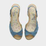172052 - סנדלים ברצלונה בצבע ג'ינס