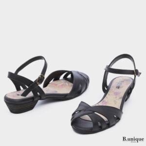 173062 - סנדלים אדלייד בצבע שחור