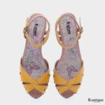 173062 - סנדלים אדלייד בצבע צהוב