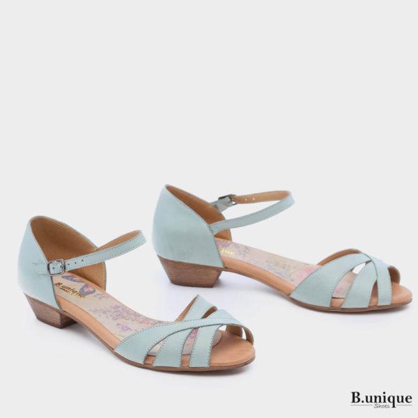 173066 - סנדלים ספרינגס בצבע מנטה