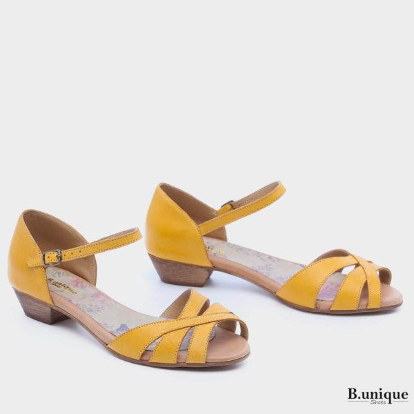 173066 - סנדלים ספרינגס בצבע צהוב