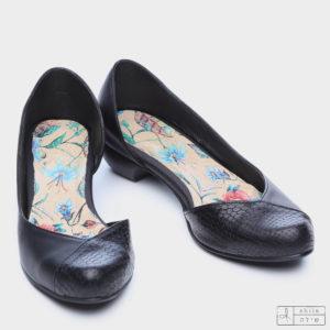 בלעדי לאתר: 273035 - נעליים פיג'י בצבע שחור