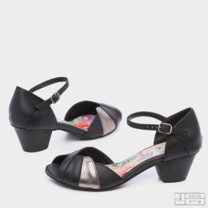 275070 - סנדלים מרשל בצבע שחור