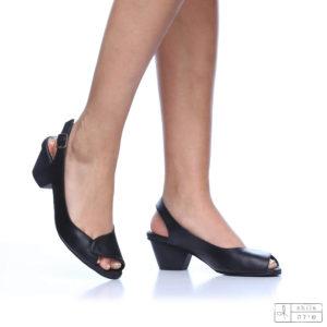 בלעדי לאתר: 275071 - סנדלים טימור בצבע שחור