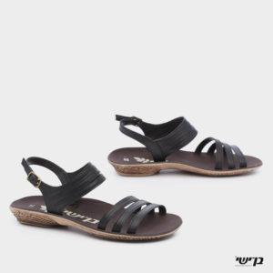 372521 - סנדלים סאפה בצבע שחור