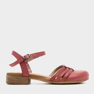 372544 - נעליים חצי פתוחות קטמנדו בצבע יין