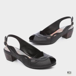 474052 - נעליים איברה בצבע שחור