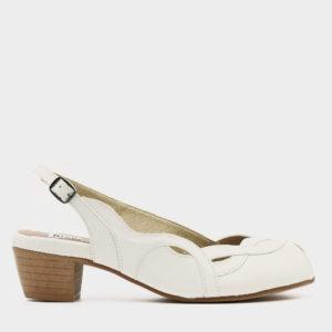 474052 - נעליים איברה בצבע לבן