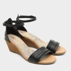 175514 - סנדלים ג'נבה בצבע שחור
