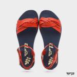 371556 - סנדלים שטוחות אגאדיר בצבע אדום
