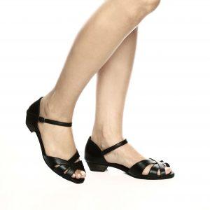 173066 - סנדלים ספרינגס בצבע שחור