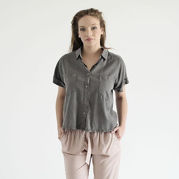 חולצת אנדי אפורה