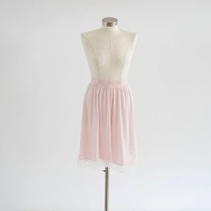 חצאית קומבניזון ורודה