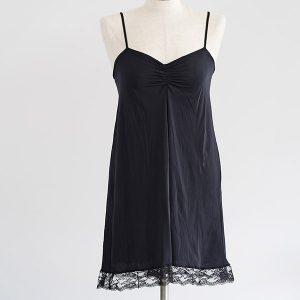 שמלת קומבניזון שחור