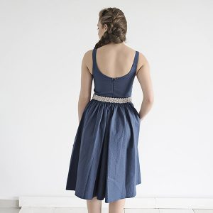 שמלת ניב – כחולה