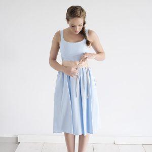 שמלת ניב – תכלת