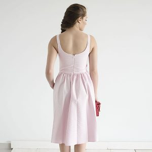 שמלת ניב – ורודה