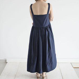 שמלת אוברסייז כחולה