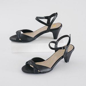 7955 - סנדלי אדיסון בצבע שחור