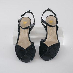 3860 - סנדלי פייג' בצבע שחור