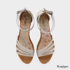 173521 - סנדלים טורונטו בצבע פלטין