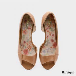174011 - סנדלים טוקיו בצבע גוף