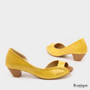 בלעדי לאתר: 174011 - סנדלים טוקיו בצבע צהוב