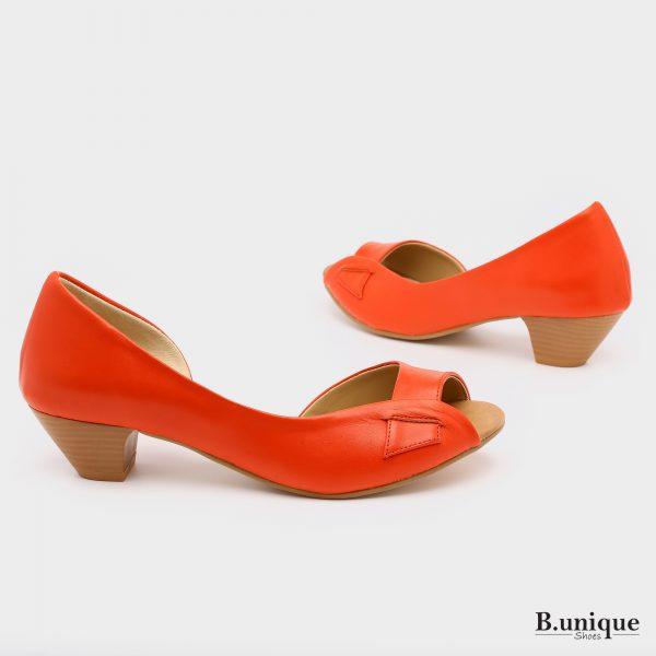 בלעדי לאתר: 174011 - סנדלים טוקיו בצבע אדום