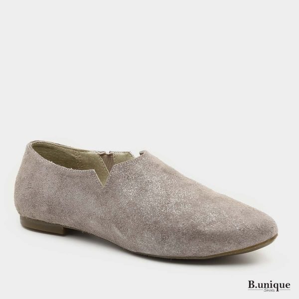 דגם מארני: נעליים סגורות בצבע אפור