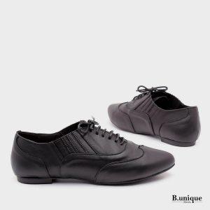 דגם שושנה: נעליים בצבע שחור