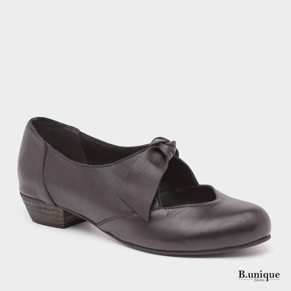 בלעדי לאתר - דגם אנדריאה: נעליים בצבע שחור