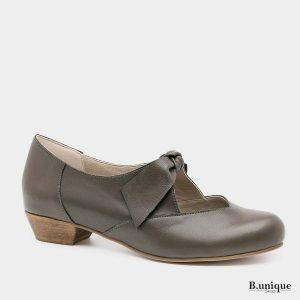 דגם אנדריאה: נעליים בצבע ירוק זית