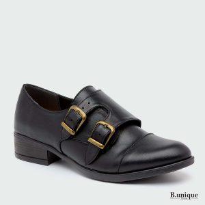 דגם ברנדה: נעלי אוקספורד בצבע שחור