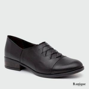 בלעדי לאתר - דגם ג'נט נעליים בצבע שחור