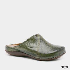 דגם הילה: כפכף סגור בצבע ירוק זית